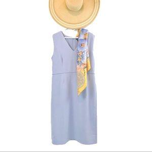 Ann Taylor Lavender Sheath Dress